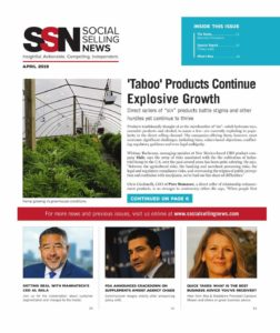 Social Selling News April 2019 cover